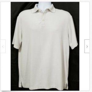 CARIBBEAN Men's Polo Striped Shirt D33